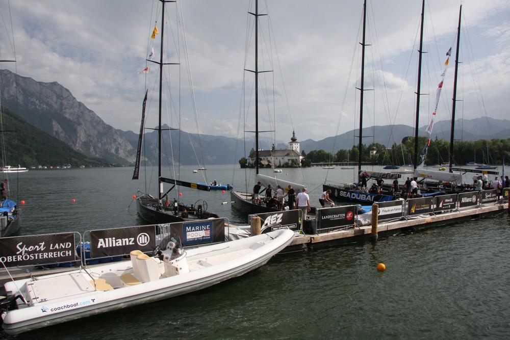 RC 44 Austria Cup warm up Traunsee Gmunden Österreich