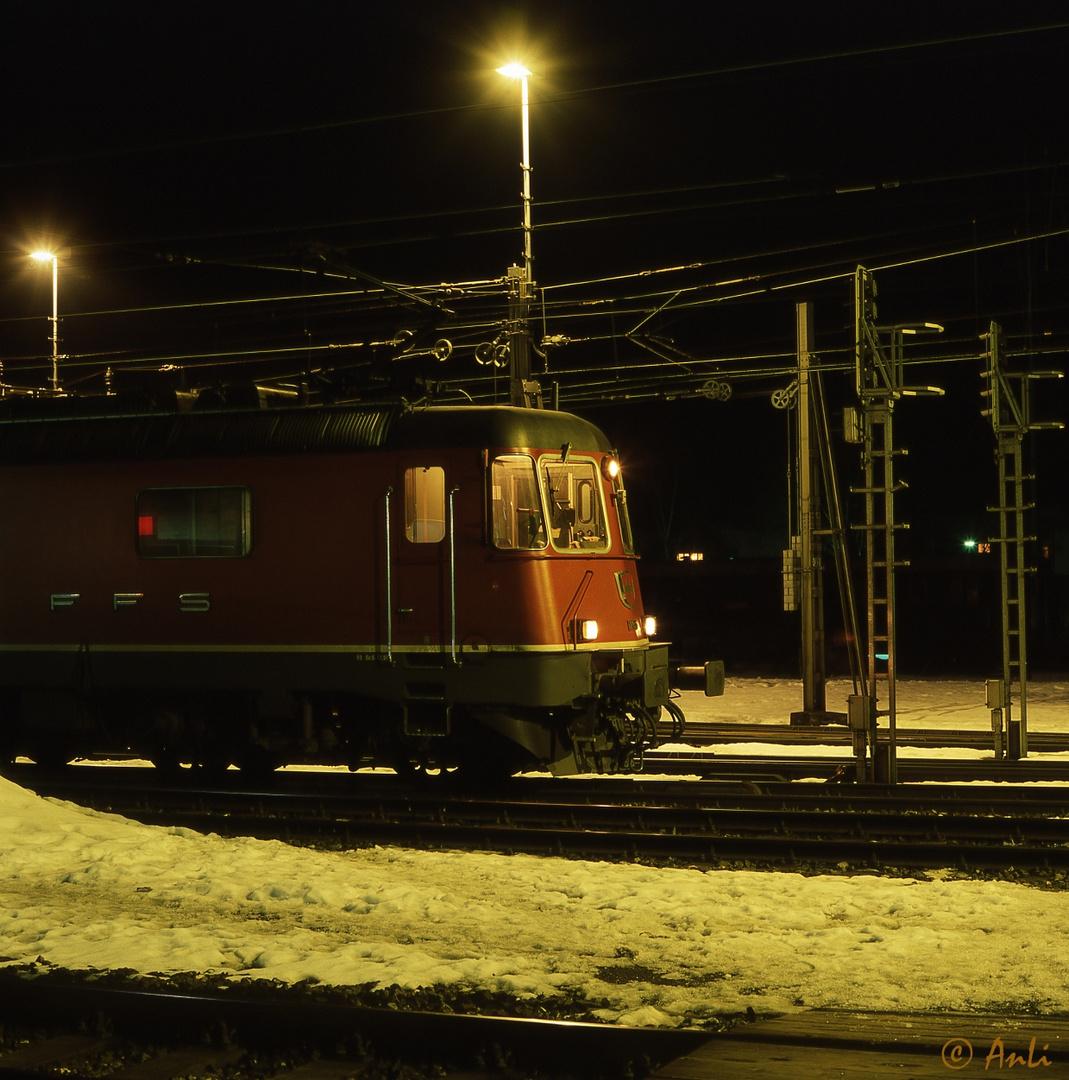 Re 6/6 in Erstfeld