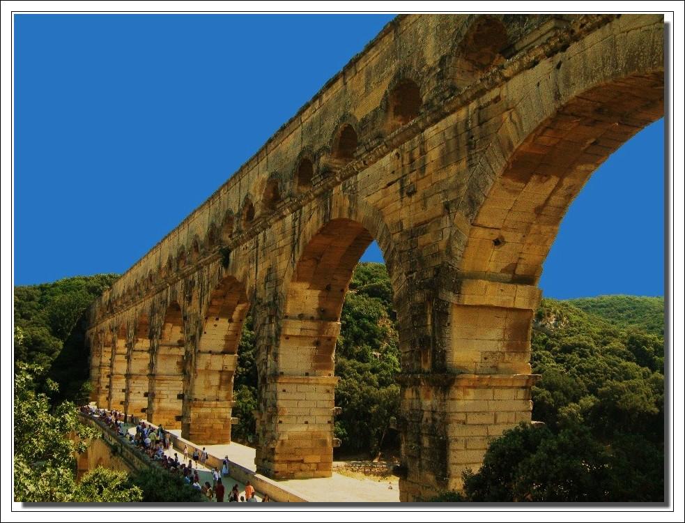 Re gards sur le pont du Gard