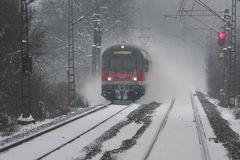 RE Schneesturm