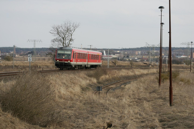 RE6 fährt von Pasewalk Hbf nach Lübeck Hbf