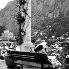 Reading in Capri