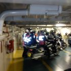 Ready to leave the ship