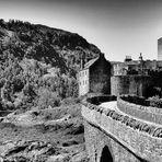 Realm of Shades, Bridge   --   Eilean Donan   ©D5591_PS-BW-F2_3#1