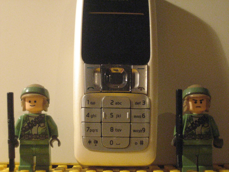 Rebbelen bewachen mein Handy