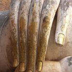 Rechte Hand Buddhas
