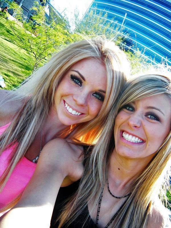 Rechts eine Freundin ;)