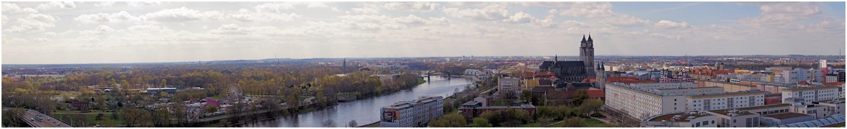 Rechts und links der Elbe