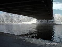 Recke Mittellandkanal - Brücke Hauptstraße von unten
