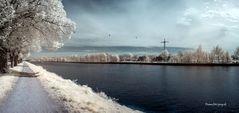 Recke Mittellandkanal - meine Lieblingsstelle zum Selebaumelnlassen...