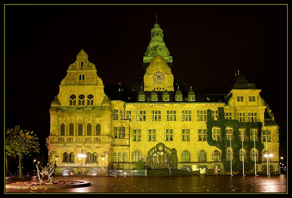 Recklinghausen leuchtet - das Rathaus