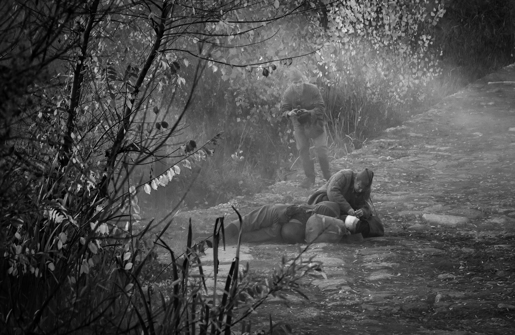 Recreación batalla de Stalingrado. Zamora.