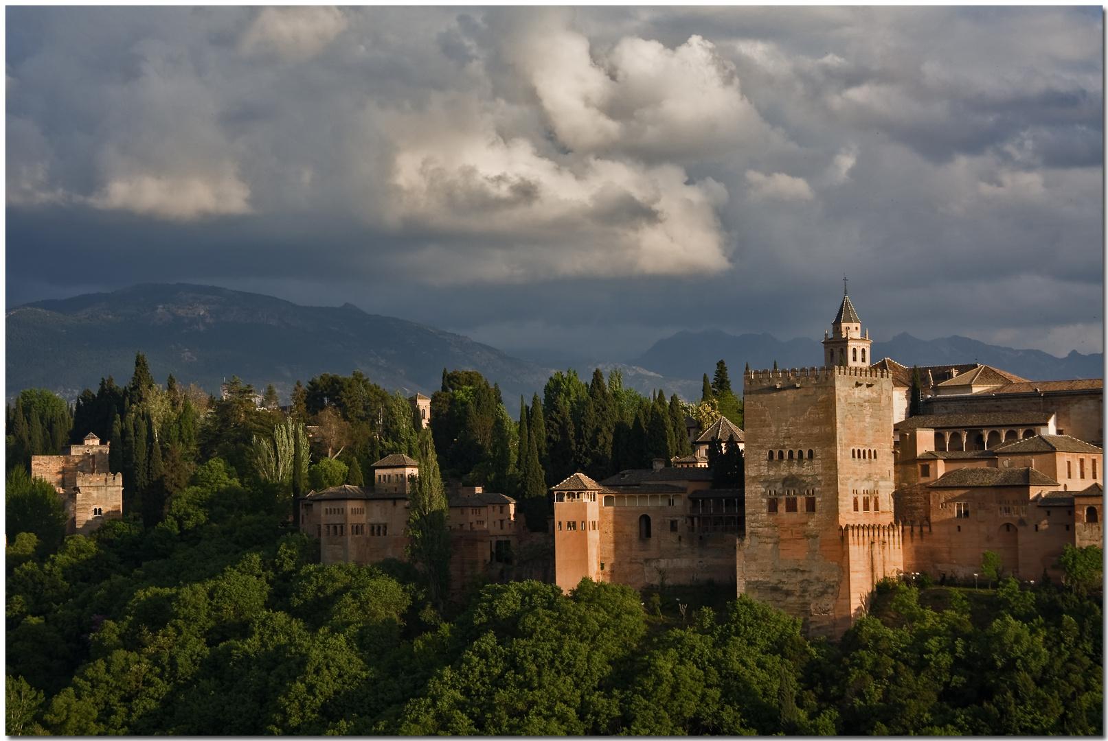 Recuerdos de la Alhambra. Esa luz...