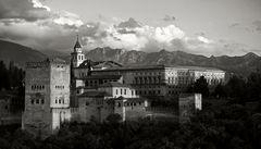 Recuerdos de la Alhambra. La última luz