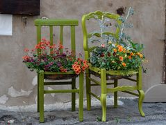 Recycling Chairs kreativ