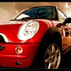 red beauty mini cooper