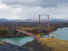 Red Bridge Iceland