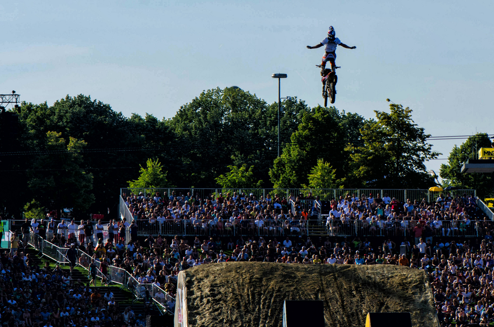 Red Bull X-Fighters im Olympiapark München 2014