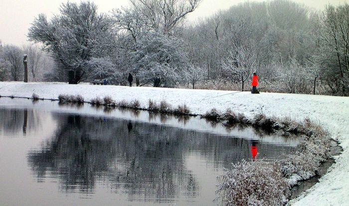 red fisherman