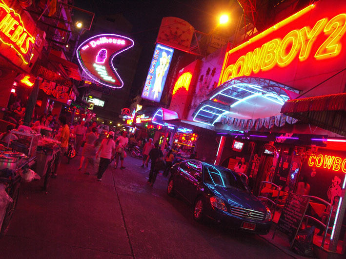 Red Lights on Soi Cowboy, Bangkok