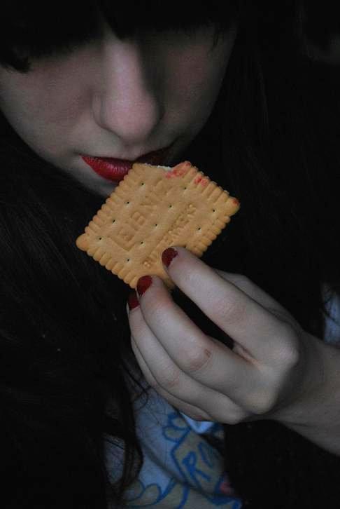 Red Lips love cookies