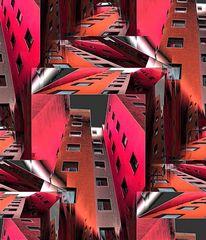 Red Metallic City