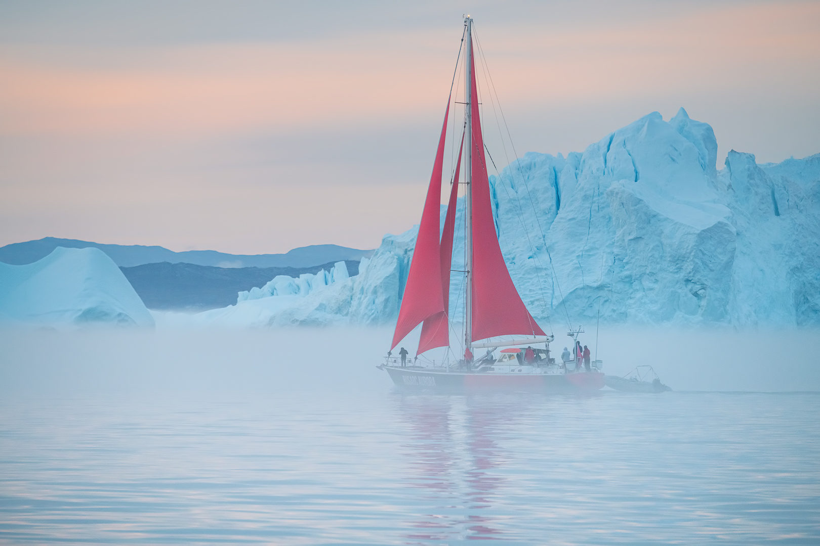 [ ... red sails ]