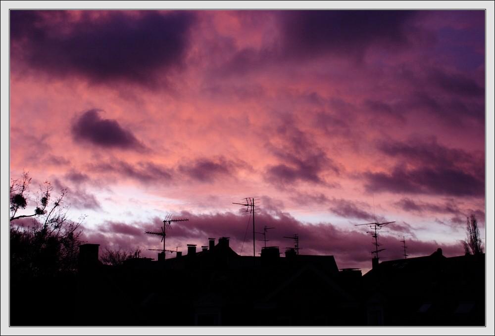 Red Sky over Darmstadt