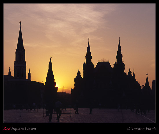 Red Square Dawn
