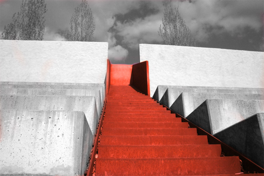 Red-Stairway