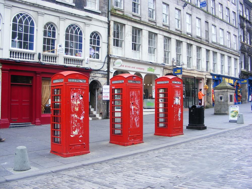 Red telephon box