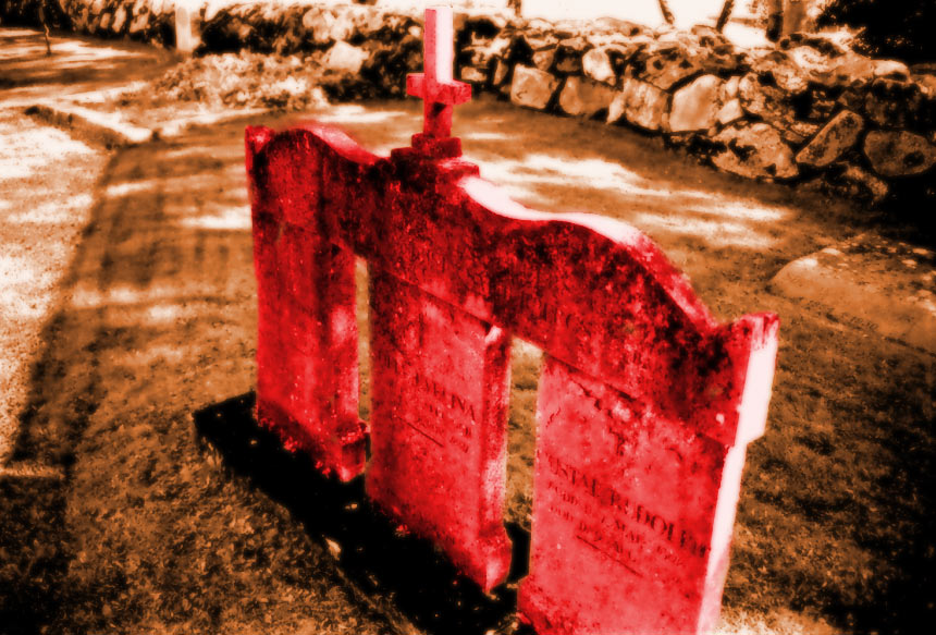 Red tomb