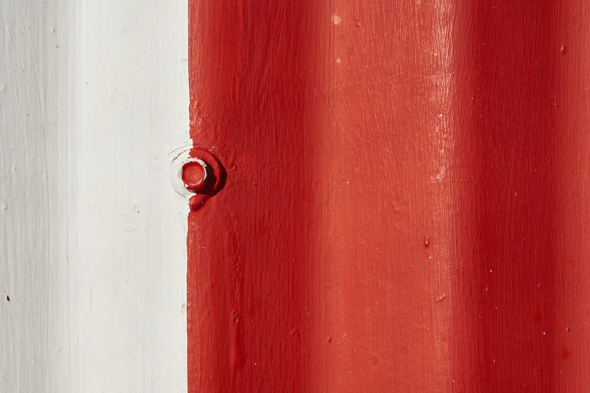 red-white screw