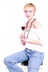 ...red wine...