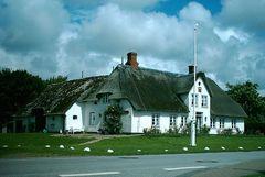 Reetdach Haus Sylt