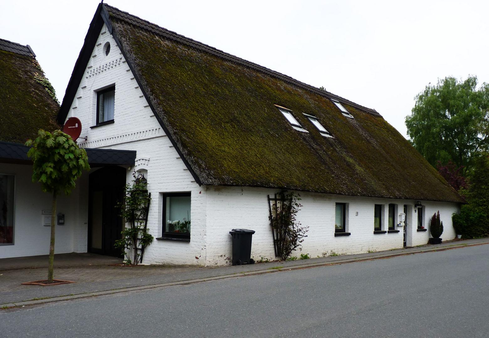 Reetdachhaus in Hüde