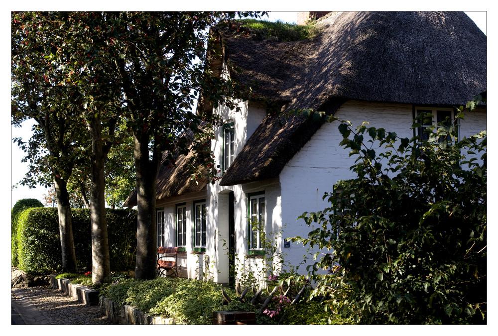 reetdachhaus in oevenum foto bild deutschland europe schleswig holstein bilder auf. Black Bedroom Furniture Sets. Home Design Ideas