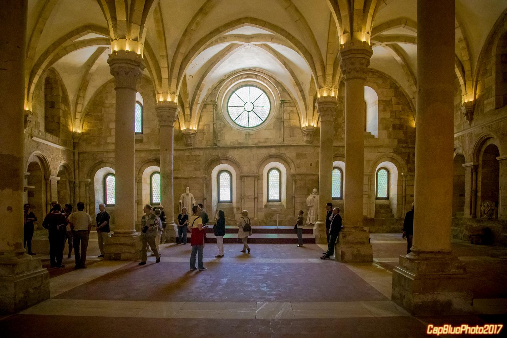 Refektorium im Mosteiro de Alcobaca