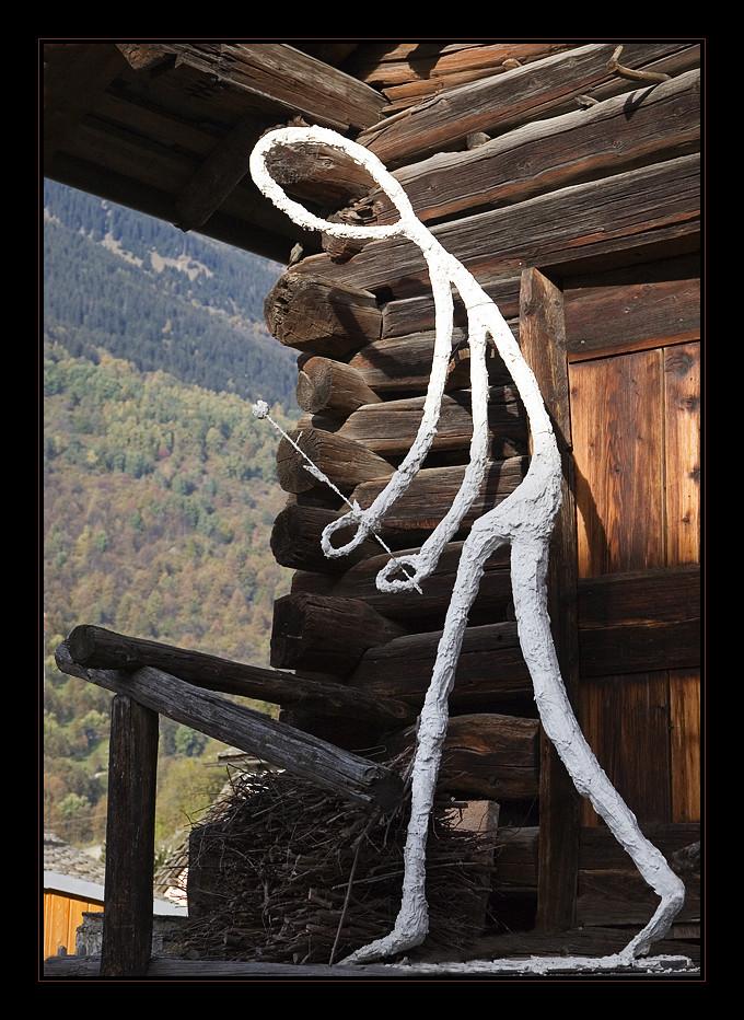 Reference to Alberto Giacometti