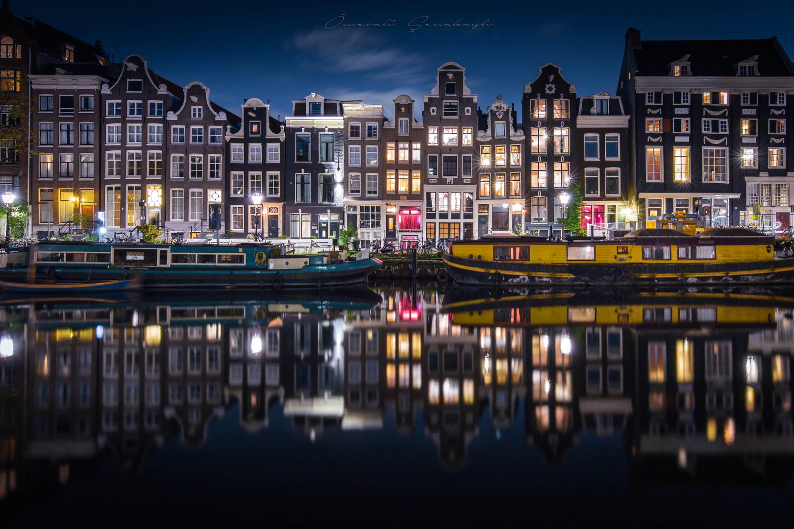 Reflection of Amsterdam