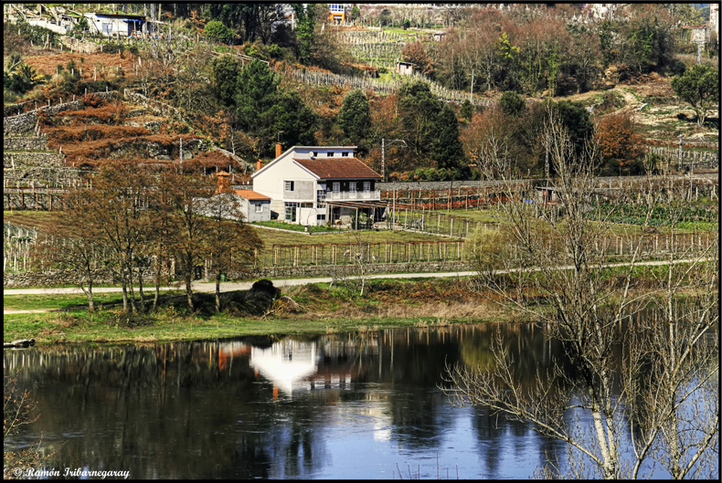 Reflections on the River Miño (Lugo - Spain)