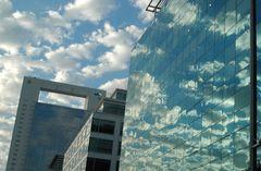 Reflejando cielo