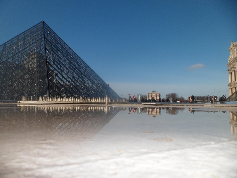Reflejos de Louvre