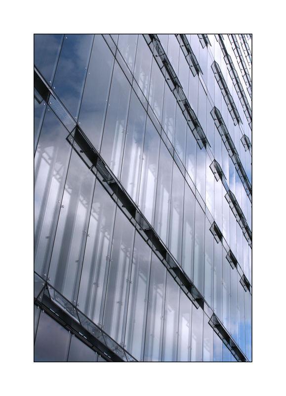 Reflektierende Fenster