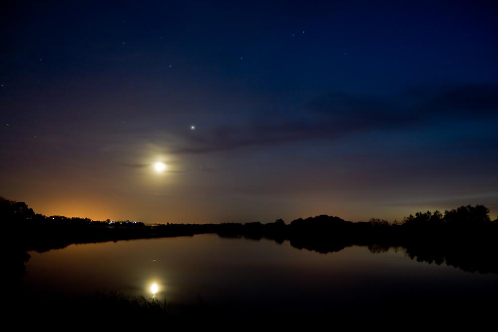 Reflet lunaire