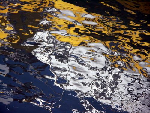 reflets abstrait