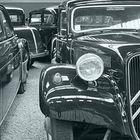 Reflets au musée automobile de Reims