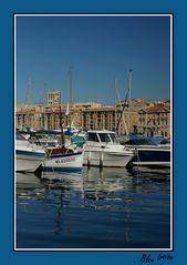 Reflets au vieux port de Marseille