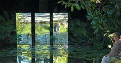 Reflets dans un Vert d Eau....