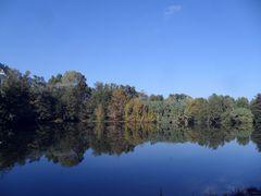 Reflets d'automne en Cévennes